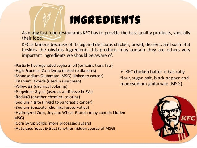 Powerpoint Kentucky Fried Chicken