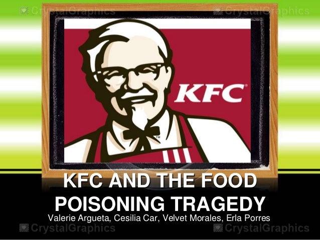 KFC AND THE FOOD POISONING TRAGEDY  Valerie Argueta, Cesilia Car, Velvet Morales, Erla Porres