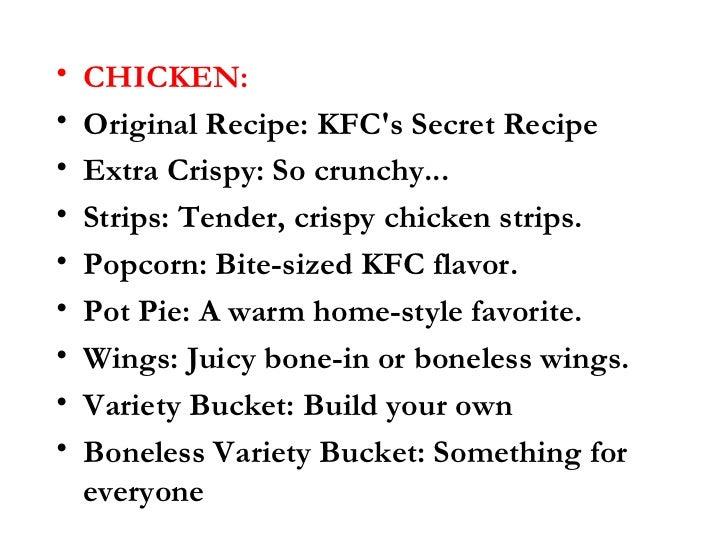 chicken original recip...