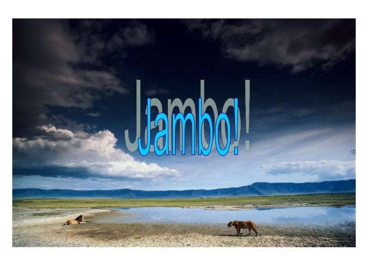 Jambo!<br />