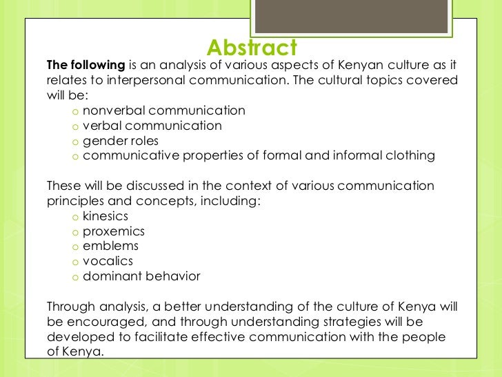 Final Group 2 Project Kenya