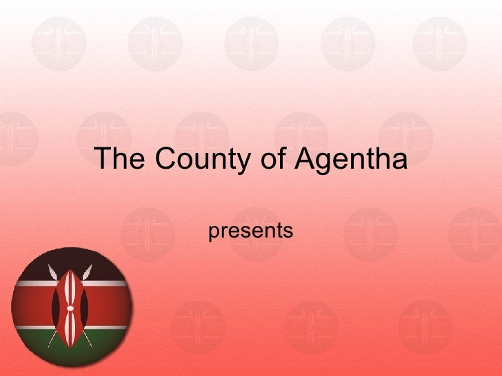 Kenya flag ppt template for powerpoint presentation kenya flag ppt template for powerpoint presentation the county of agentha presents toneelgroepblik Choice Image