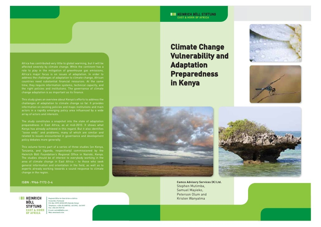 Climate Change                                                                        Vulnerability andAfrica has contribu...