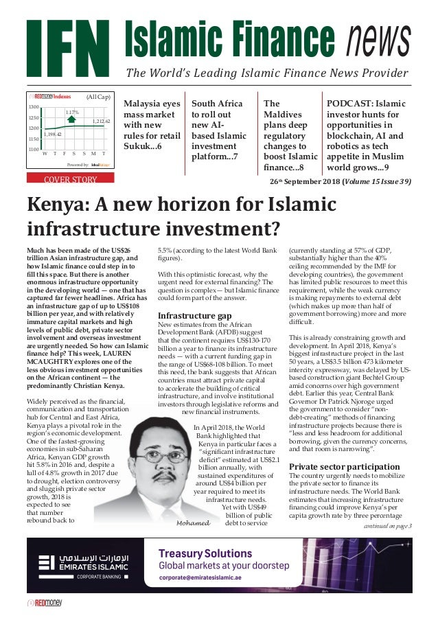 Much has been made of the US$26 trillion Asian infrastructure gap, and how Islamic finance could step in to fill this space....