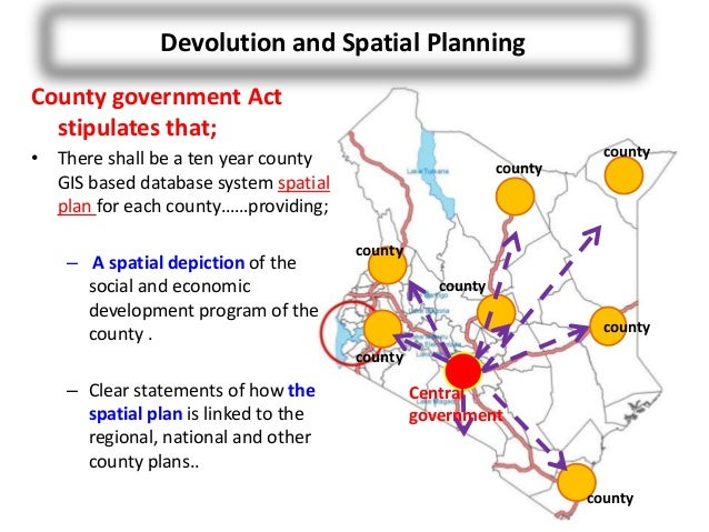 Kenya Land Use Planning and the Need for GIS in County ...