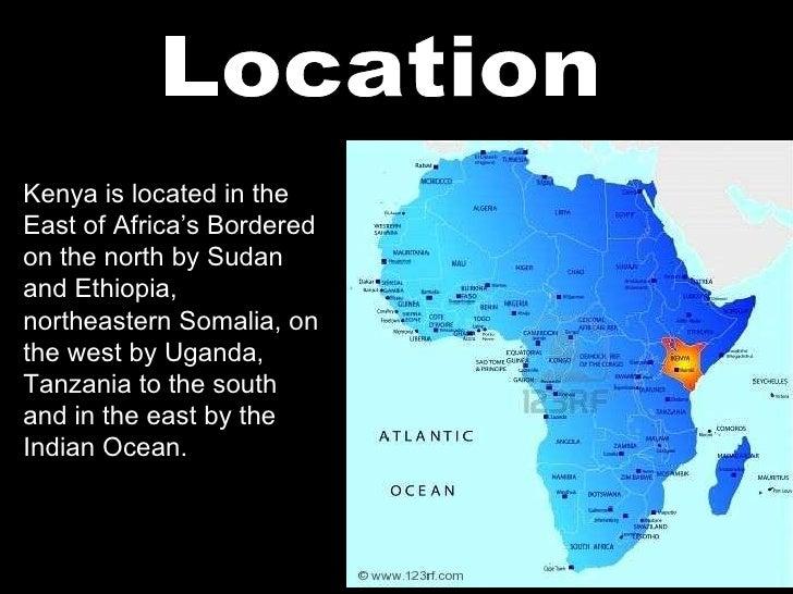 Kenya Power Point - Where is kenya located