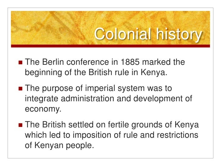 an introduction to the history of kenya An introduction to non-governmental organizations (ngo) management compiled by ali mostashari iranian studies group at mit june 2005.