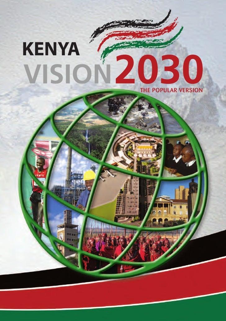 Kenya Vision 2030 Pdf