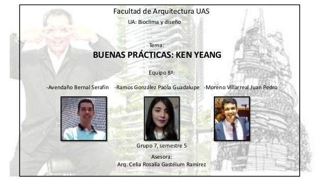 La arquitectura de ken yeang g7 eq8a for Arquitectura tecnica ua