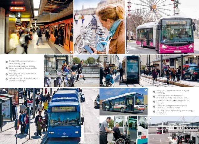 1 8 3 4 2 9 5 6 1 The Lyon TCL network attracts new passengers every year. 2 Keolis develops connected mobility solutions ...