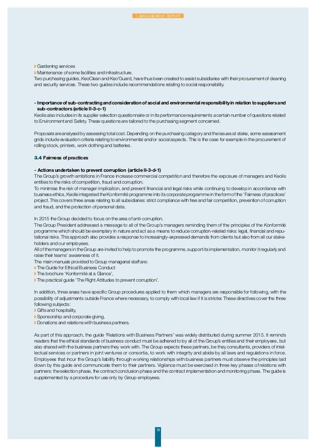 Keolis SA 2015 Financial Report