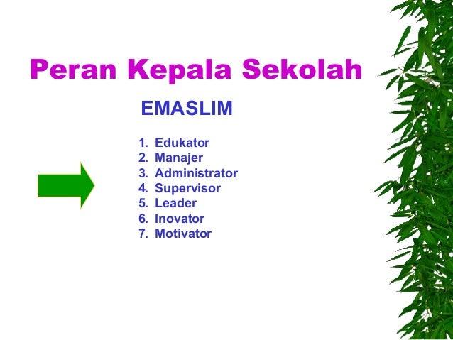 Kepemimpinan Kepala Sekolah