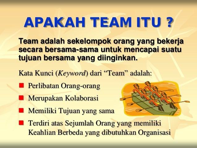 5 TAHAP PEMBENTUKAN TEAM    Adjourning (tahap Mapan/Sukses)    Performing (tahap Kinerja Puncak)    Norming (tahap Pe-norm...