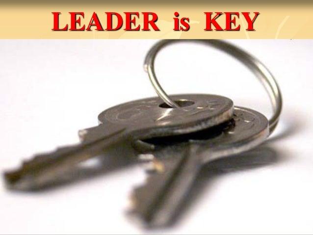 LEADER is KEY