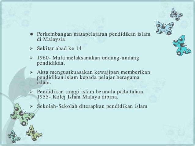 Kepentingan Pendidikan Islam Dalam Melahirkan Modal Insan Yang
