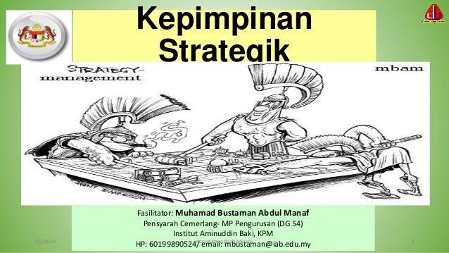 Fasilitator: Muhamad Bustaman Abdul Manaf Pensyarah Cemerlang- MP Pengurusan (DG 54) Institut Aminuddin Baki, KPM HP: 6019...