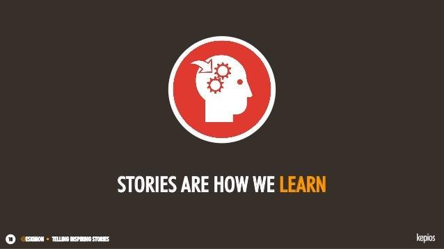 @ESKIMON • TELLING INSPIRING STORIES10 STORIES ARE HOW WE LEARN