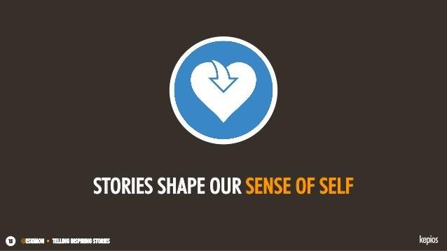 @ESKIMON • TELLING INSPIRING STORIES15 STORIES SHAPE OUR SENSE OF SELF