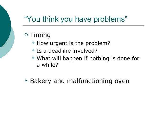 kepner tregoe method of problem solving ppt