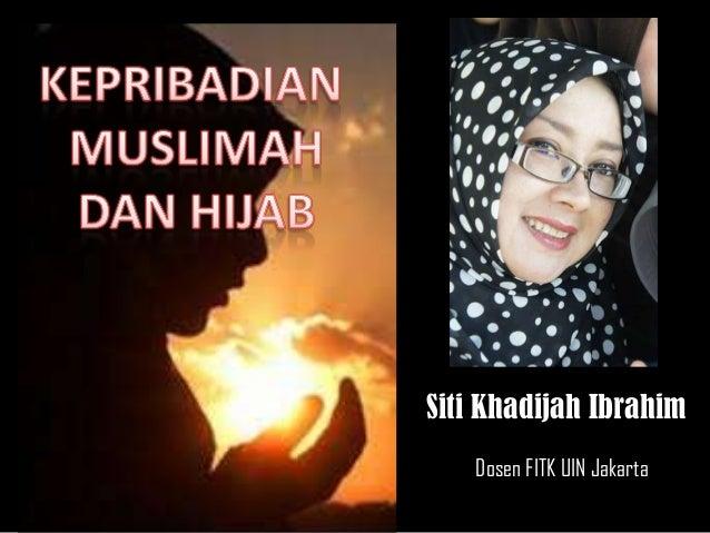 Dosen FITK UIN Jakarta Siti Khadijah Ibrahim