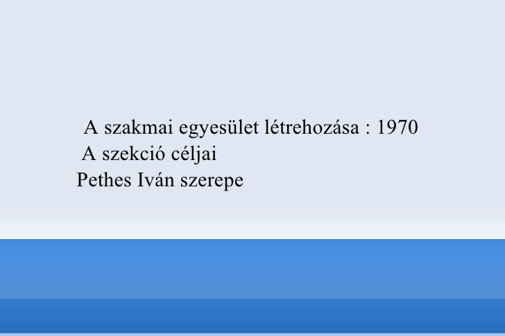 Zenei könyvtári képzés Magyarországon - Múlt és jelen Slide 2