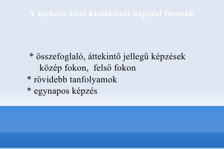 Zenei könyvtári képzés Magyarországon - Múlt és jelen Slide 3
