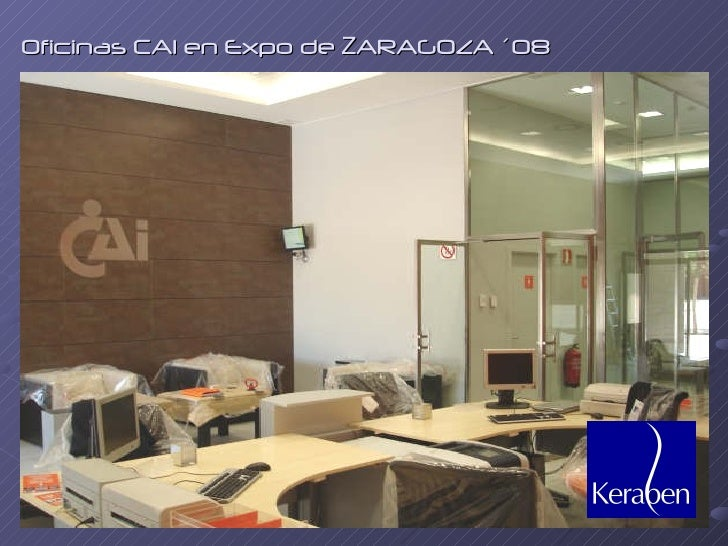 Keraben 2009 for Oficinas cai en zaragoza