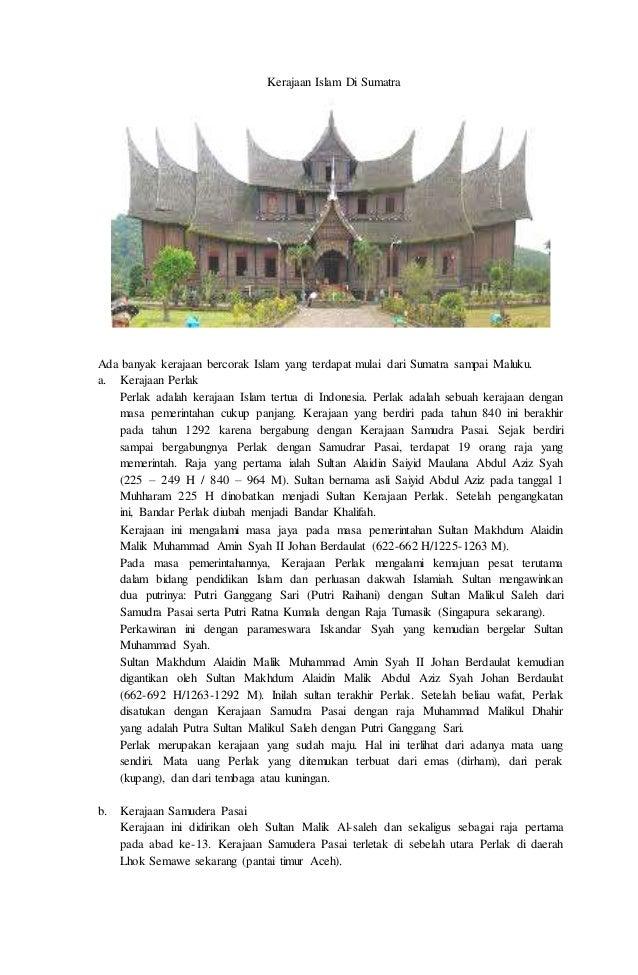Kerajaan Islam Di Nusantara