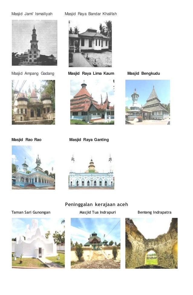 Peninggalan Kerajaan Islam Sumatra Dan Aceh