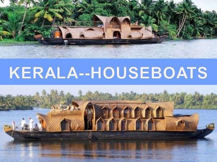 Kerala -houseboats Slide 1