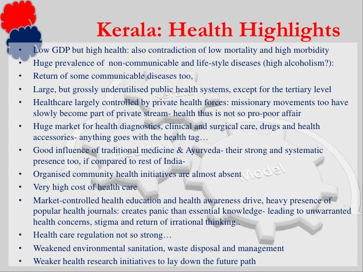 Health problems in kerala essays