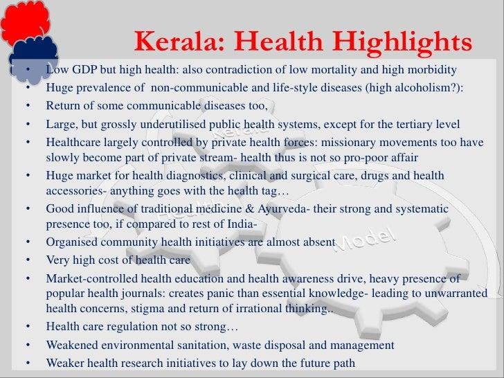 Health problems in kerala essays