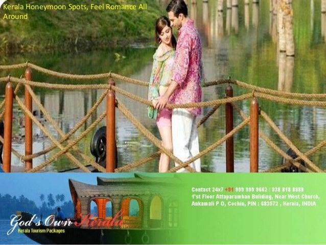 Kerala Honeymoon Spots, Feel Romance All Around