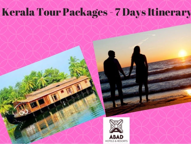 Kerala Tour Packages - 7 Days Itinerary