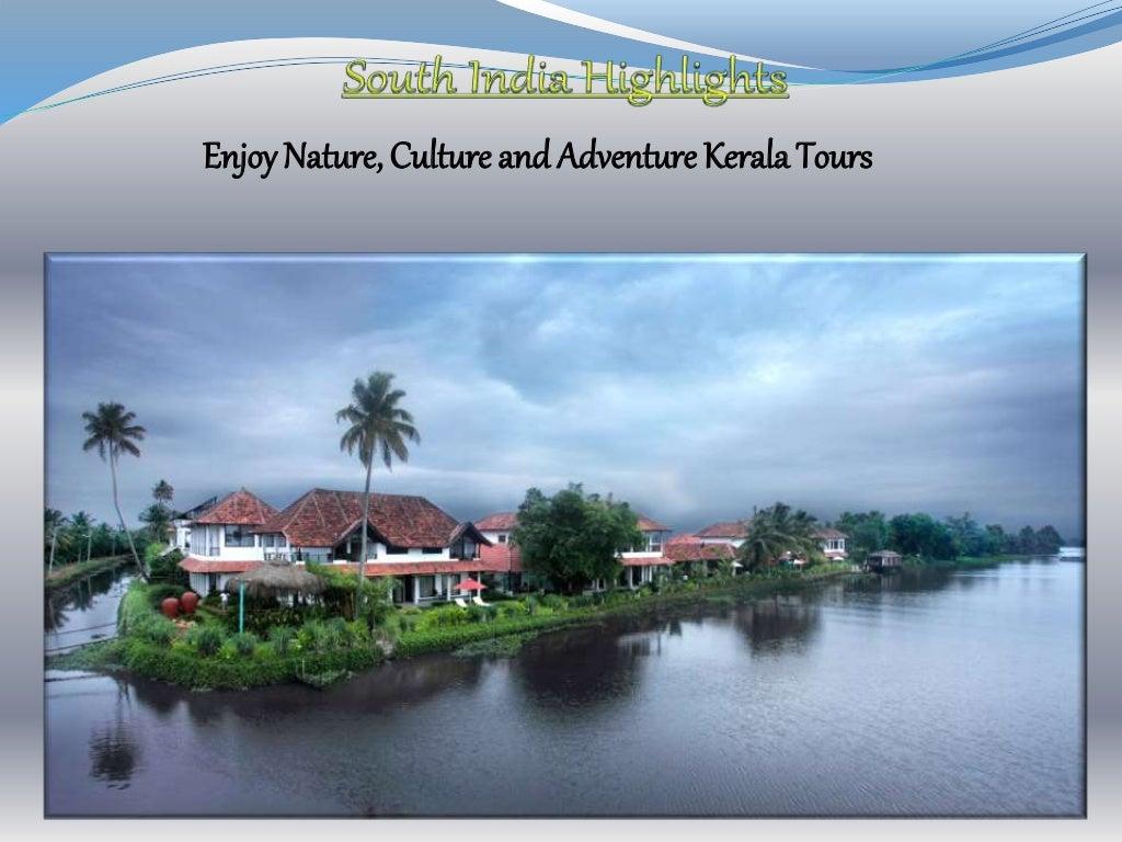 Kerala Tourism - Magazine cover