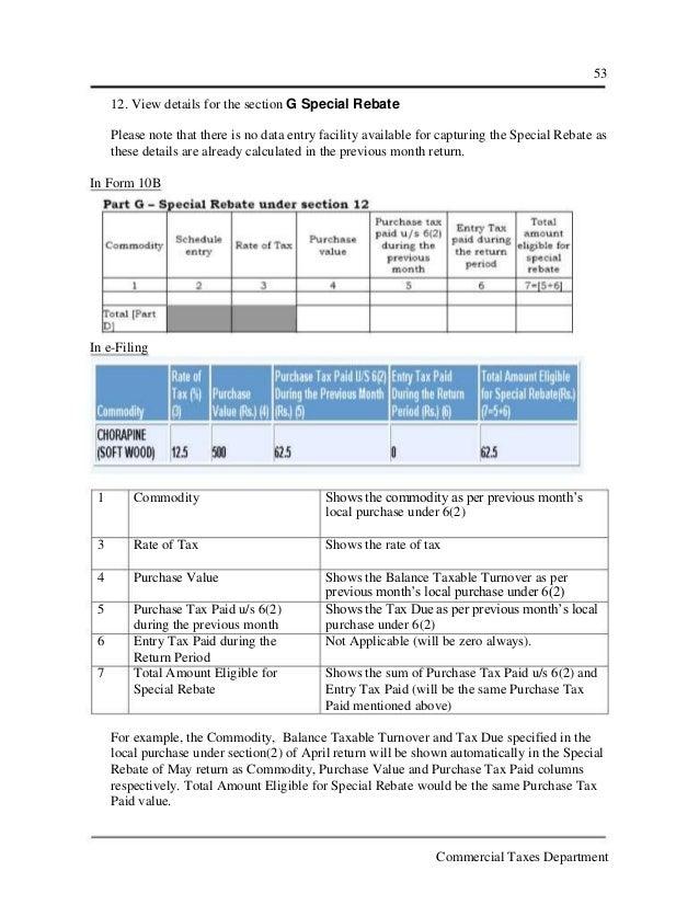 kerala vat efiling, Invoice examples