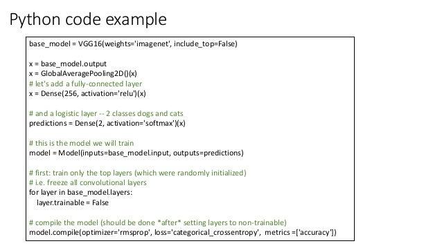 Keras on tensorflow in R & Python