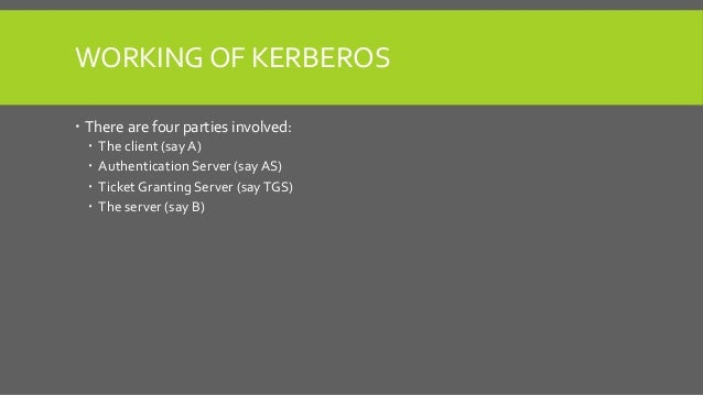Kerberos, NTLM and LM-Hash