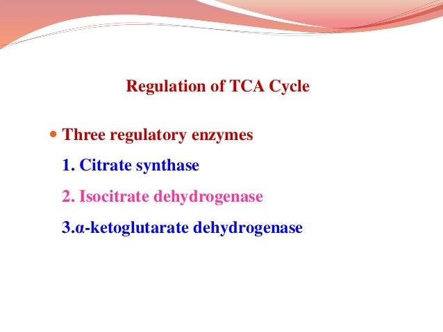 Inhibitors of TCA Cycle  Aconitase is inhibited by fluoro-acetate.  This is a non-competitive inhibition.  Alpha ketogl...
