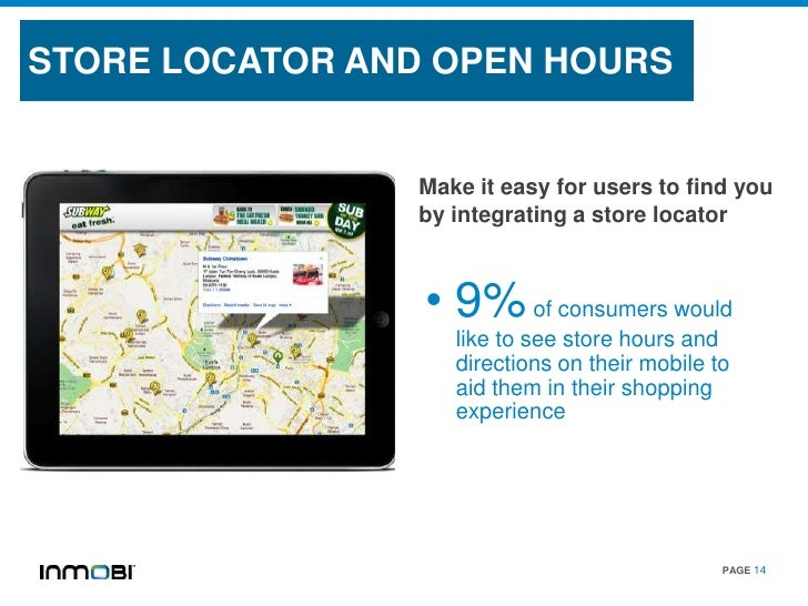 STORE LOCATOR AND OPEN HOURS                Make it easy for users to find you                by integrating a store locat...
