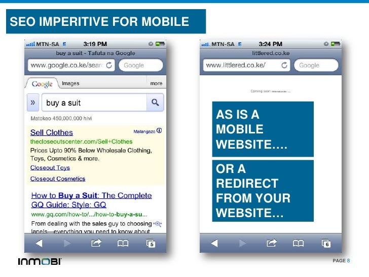 SEO IMPERITIVE FOR MOBILE                            AS IS A                            MOBILE                            ...
