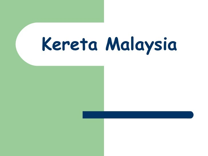 Kereta Malaysia