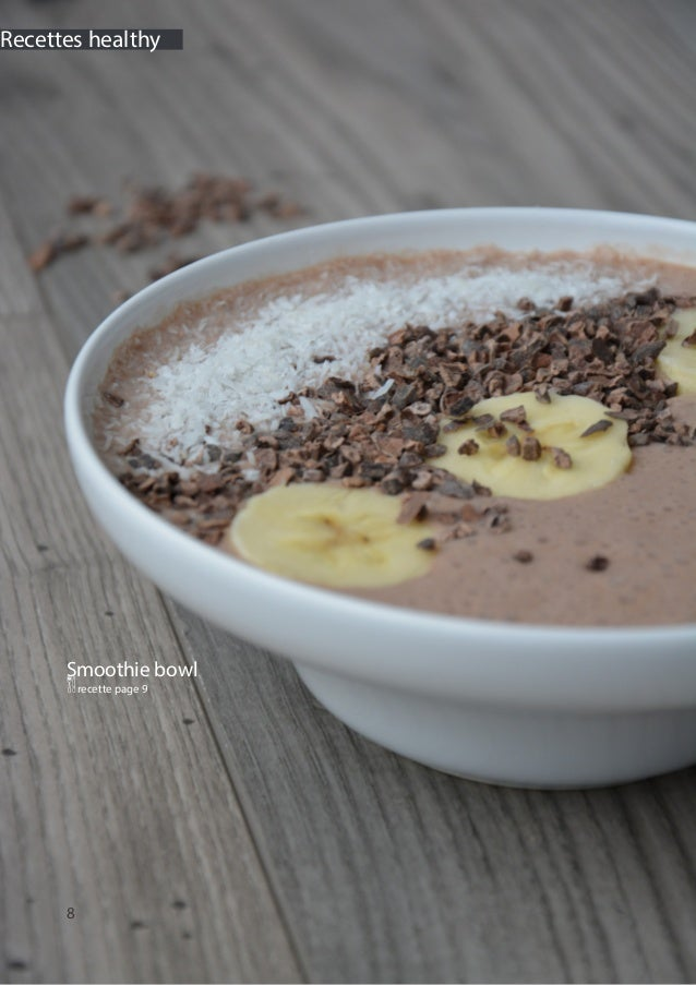 8 Recettes healthy Smoothie bowl Qrecette page 9
