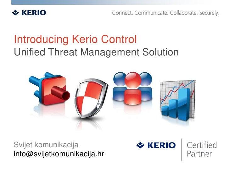 Kerio Control 7 Overview