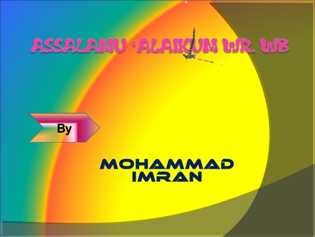 By     MOHAMMAD       IMRAN