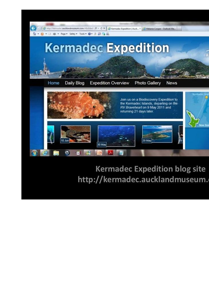 KermadecExpeditionblogsitehttp://kermadec.aucklandmuseum.com