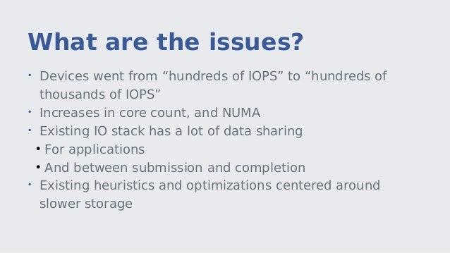 Kernel Recipes 2015: Solving the Linux storage scalability bottlenecks Slide 3
