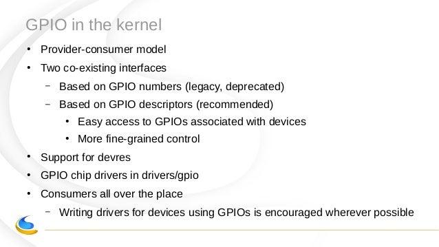 Linux Gpio Driver
