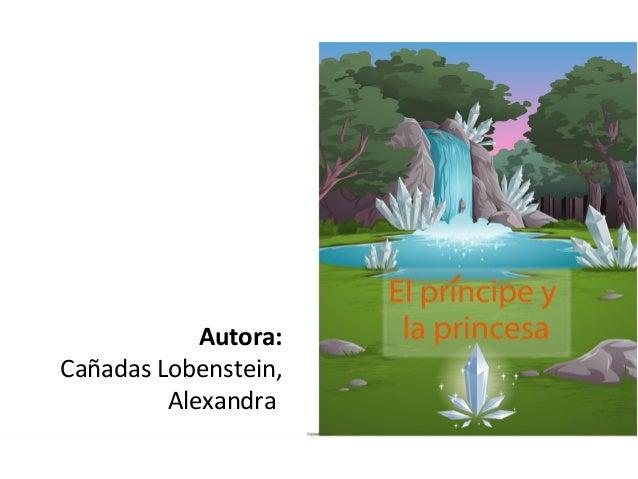Autora:Cañadas Lobenstein,         Alexandra