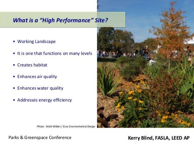 Green Infrastructure 101 - KB Slide 2